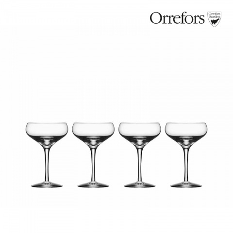 Orrefors MORE Coupe 4-pack