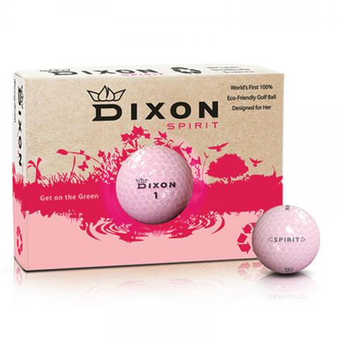 Golfbollar Dixon Spirit