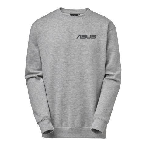 Rundhalsad sweatshirt