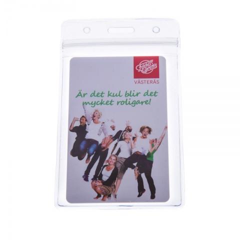 Plastficka för Plastkort