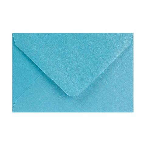 Babyblå Pärlemorfärgat kuvert