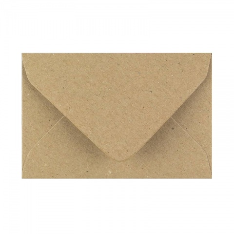 Brunt Kraftpapper Kuvert
