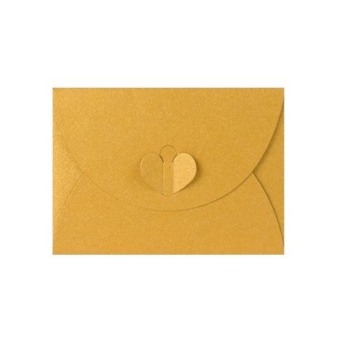 Guld Fjärilkuvert