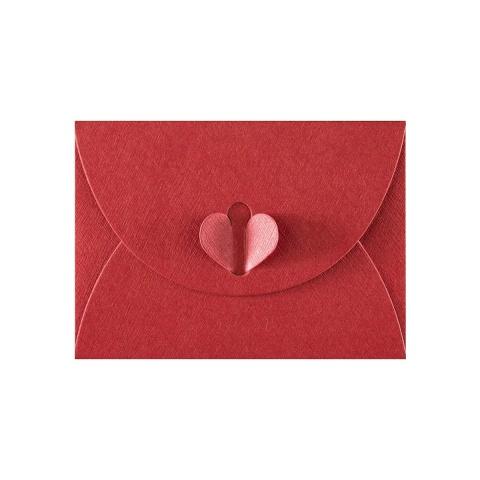 Kardinalröd Fjärilkuvert