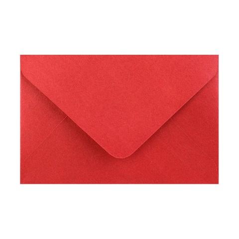 Kardinalröd Pärlemorfärgat kuvert