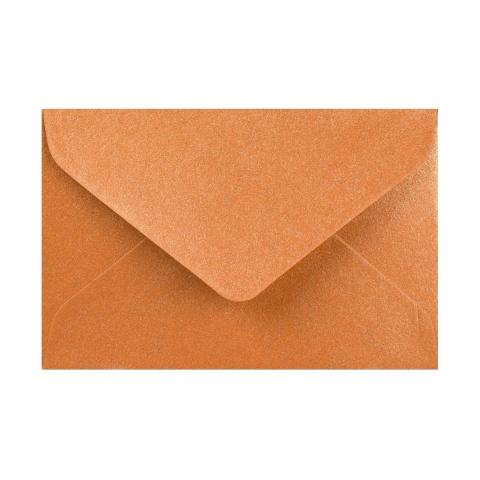 Koppar Pärlemorfärgat kuvert