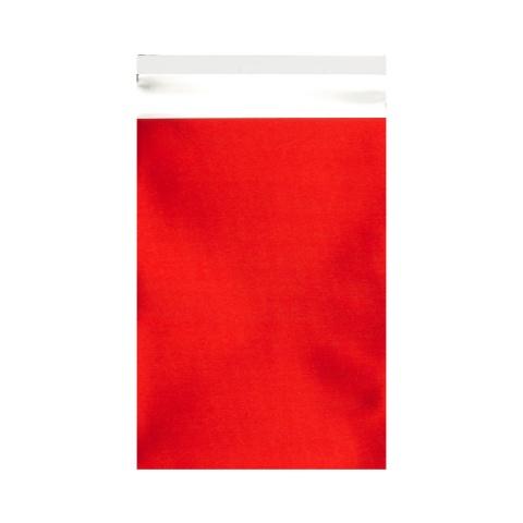 Mattfolierad påse Röd