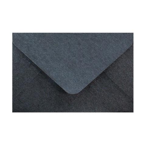 Pärlemorfärgat kuvert i skiffer