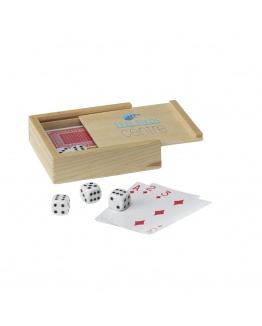 Spelset Dice & Cards
