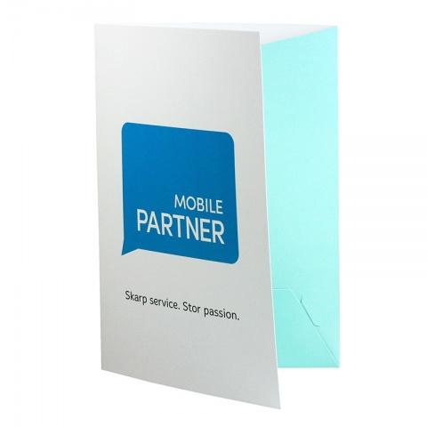 Offertmapp visitkortshållare - A4
