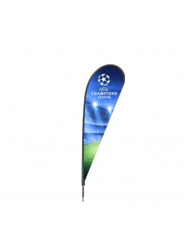 Beachflagga Drop Medio 350cm