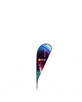 Beachflagga Drop Piccolo 220cm