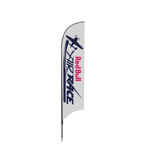 Beachflagga Medio 360cm