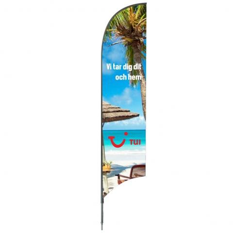 Beachflagga Superiore 480cm