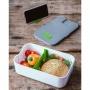 Lunchlåda med mobilhållare