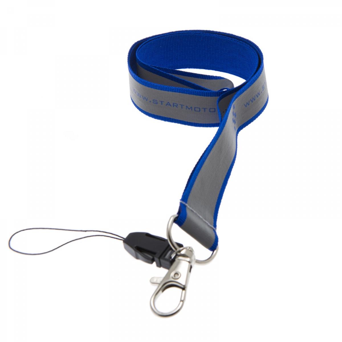 Reflexnyckelband med tryck från 3 6eddc5df1498d