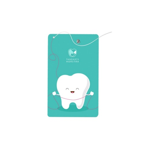Tandtråd med tryck