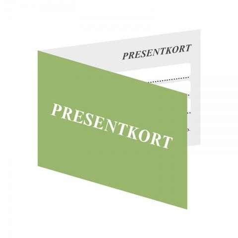 Presentkort A5 Liggande