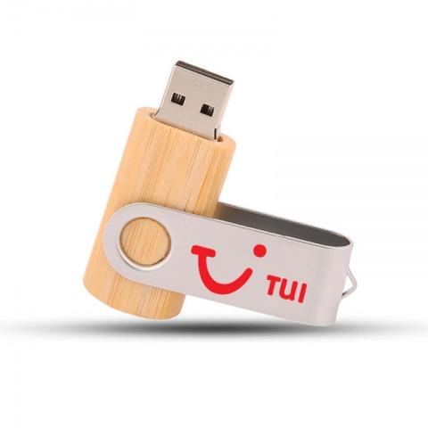 USB-minne Wood Twist