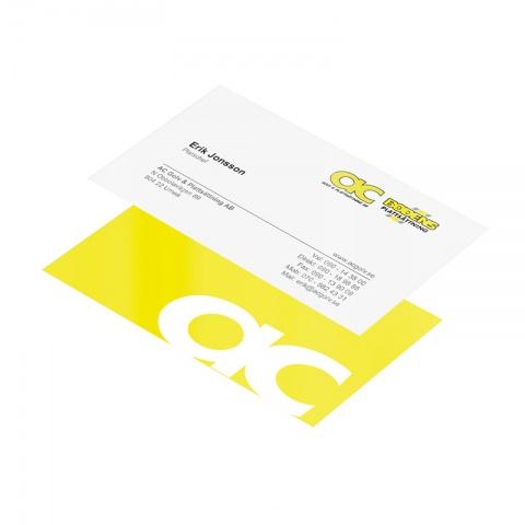 Expresskort - Snabba visitkort